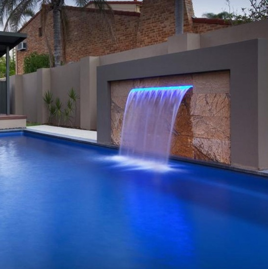 Swimming Pool Wall Fountain,Led Waterfalls,Waterblade For Pool,Australia  Standard - Buy Swimming Pool Fountain Product on Alibaba.com