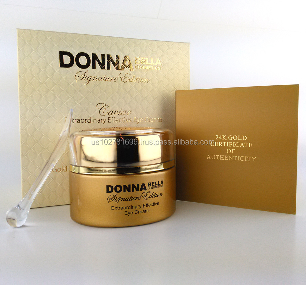 ALL OUR PRODUCTS ARE ON SALE NOW START YOUR BUSINESS WITH Caviar Extraordinary Effective Eye Cream, Donna Bella