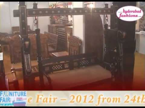 Furniture Fair -- 2012 part1 from 24th to 27th February 2012 at Hitex Exhibition Centre, Madhapur