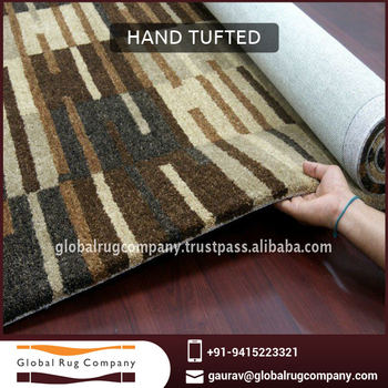 Very Beautiful Best Selling Best Quality Indian Woolen Hand tufted Rugs and Carpets