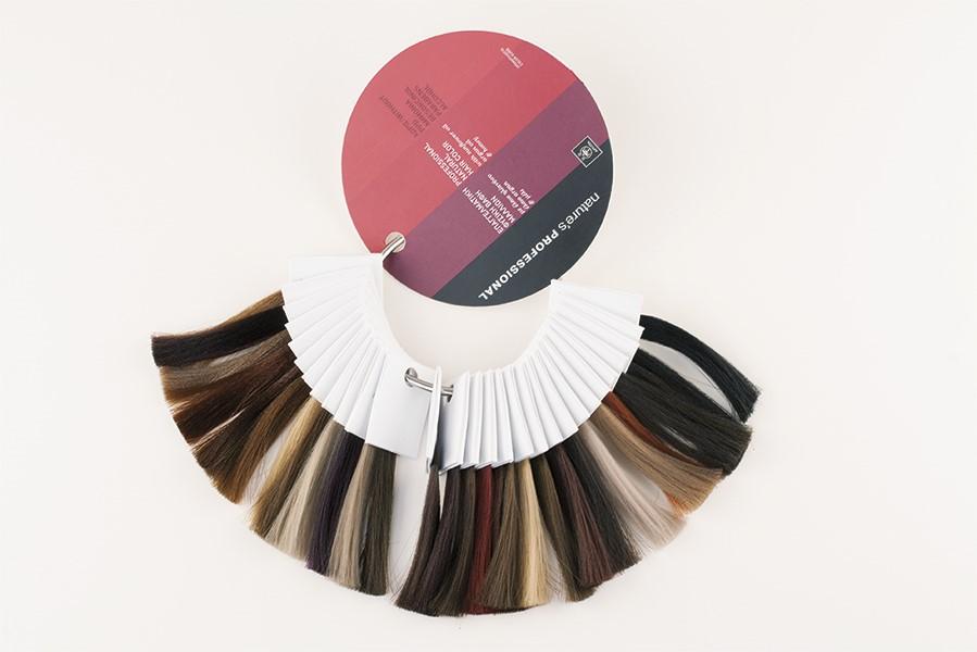 Customicable tinte para el cabello anillo de carta de color-Tinte ...