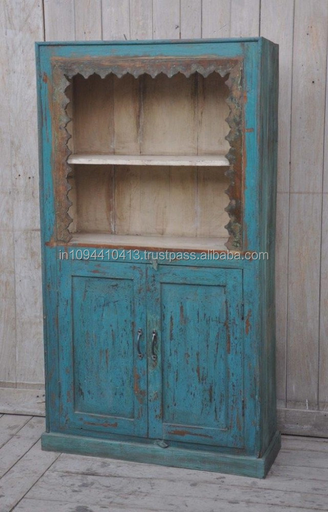 antique wooden book case