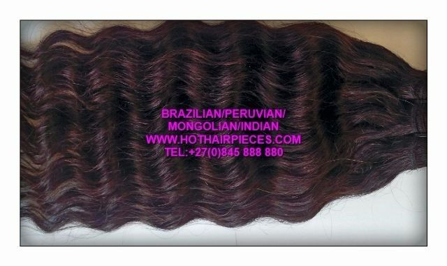 Brazilian/indian/peruvian hair 100%