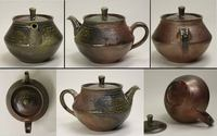 Japanese Tea Old Process Pottery Teapot T-112-s Quality Products ...