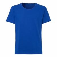 Organic cotton blue color T-Shirt short sleeve