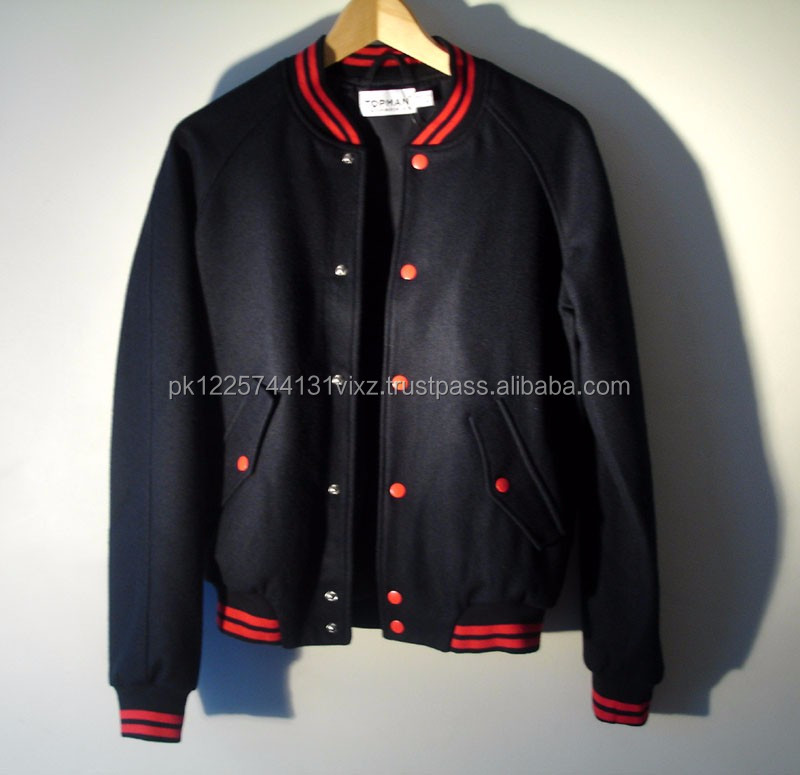 sublimation custom man/woman winter varsity jacket/ bomber jackets