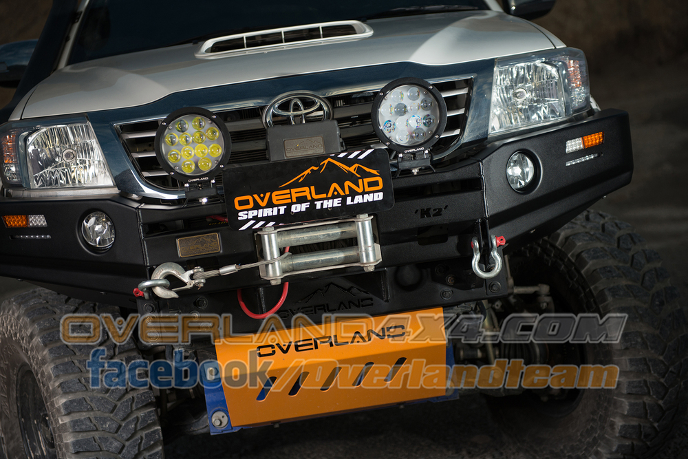 4x4 Accessories Front Bumper Everest Bull Bar Series For