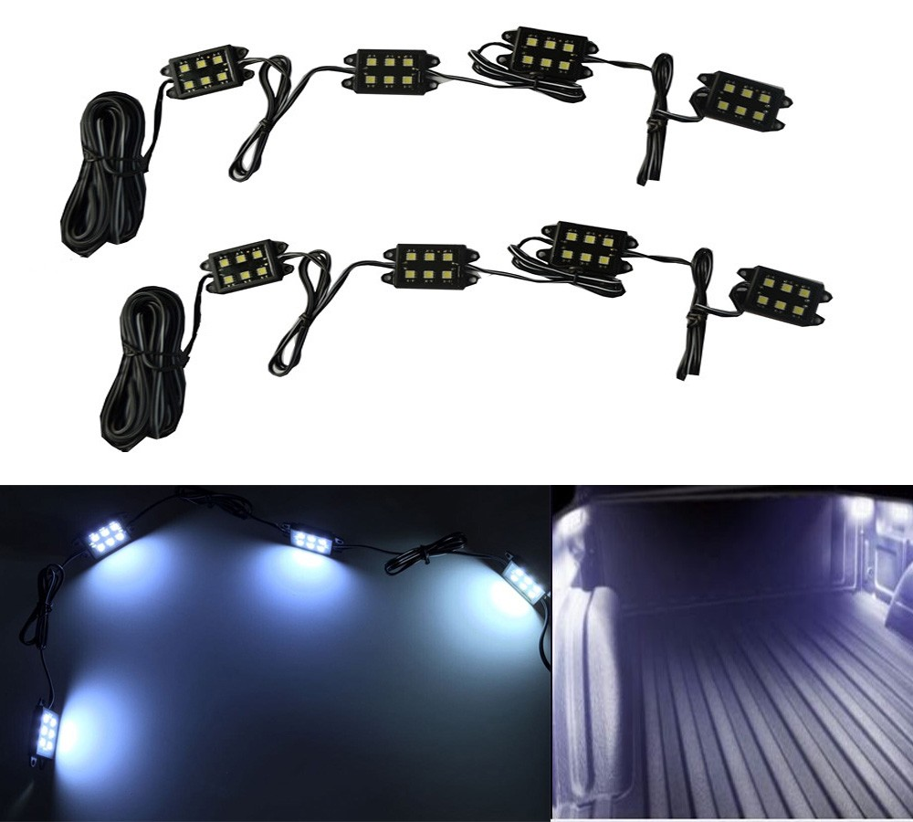 Wholesale Waterproof IP67 Super Bright 8PC Pickup Truck Bed LED Lighting