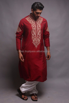 bd0b4f65cd Fancy Embroidery Salwar Kameez Designs For Men , Mens Kurta Designer Wear ,  Groom kurta shalwar