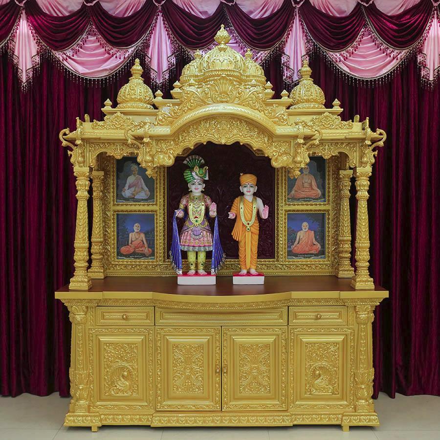Swaminarayan Wooden Home Temple Design Buy Wooden Temple Design For Home Wooden Home Temple
