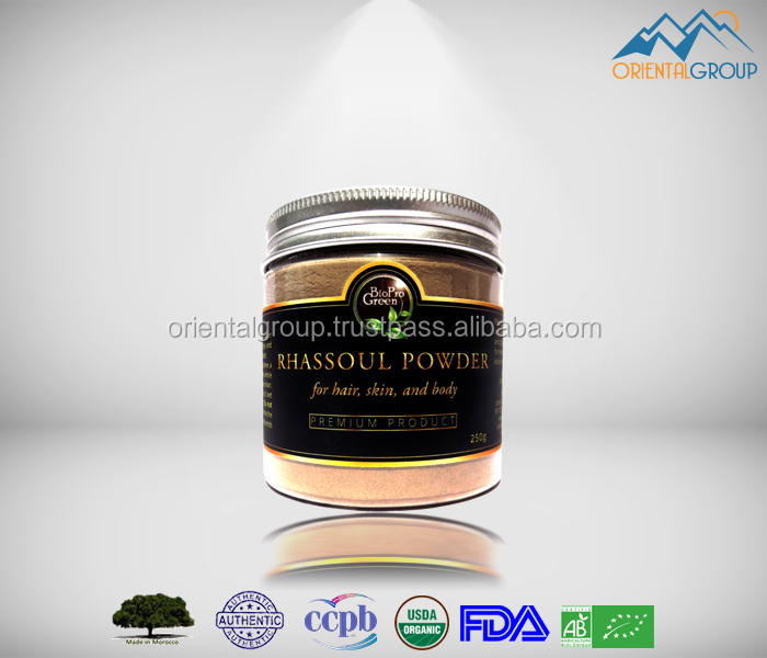 Pure & Premium grade ghassoul clay morocco for Body & Hair & Skin Care
