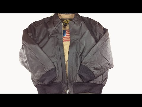 Air Force A-2 Flight Jacket: Air Force A-2 Leather Jacket Unboxing