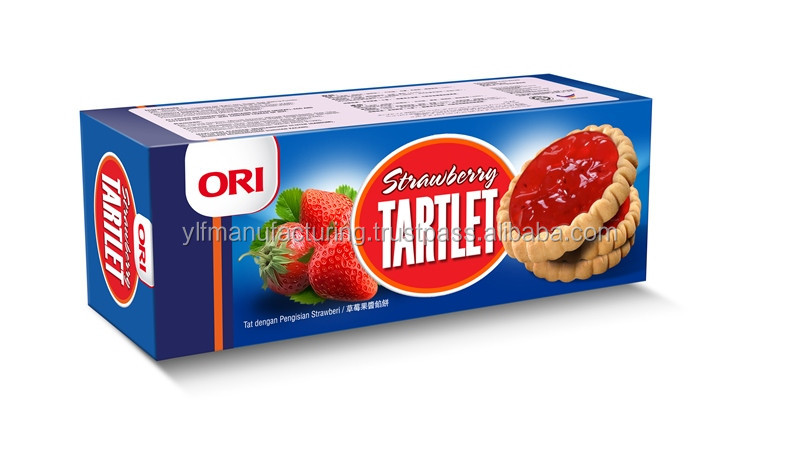 ORI Fruit jam Cookies/Biscuit Strawberry/Blueberry