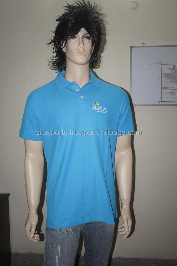 Longline Zipper Polo Shirt / Longline T Shirts With Zip / Custom ...