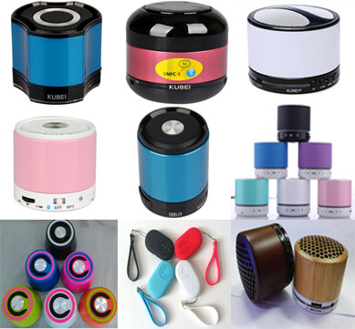Whole sale Portable bluetooth wireless speakers for Mobile phones and gadgets
