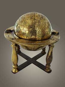 Wonderlijk Desktop Metalen Decoratieve Globe,Antieke Globe,Messing Globe XX-76