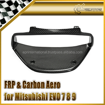 FOR Mitsubishi EVO 7 8 9 Evolution Carbon Fiber Cluster Surround