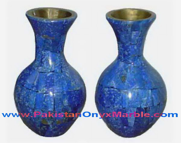 Polished Lapis Lazuli Flower Vases Handicrafts Buy Fine Quality