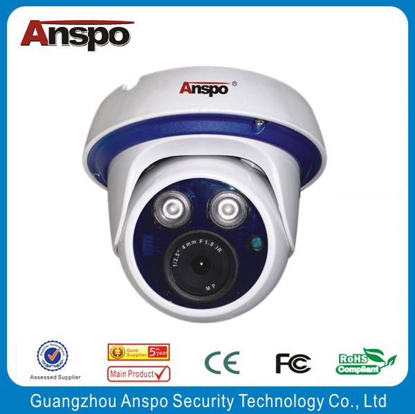 Hot sale in Guangzhou HD IP 1.3mp 2.0mp 3.0mp 4.0mp 5.0mp indoor dome camera