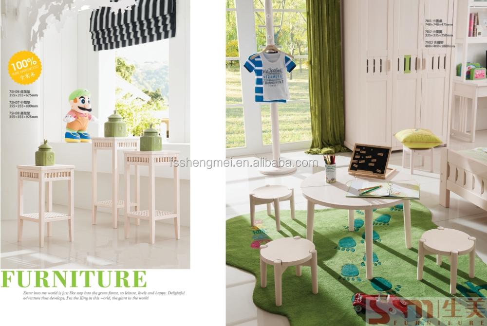 good quality pine wood kids girls boys children bedroom furniture sets