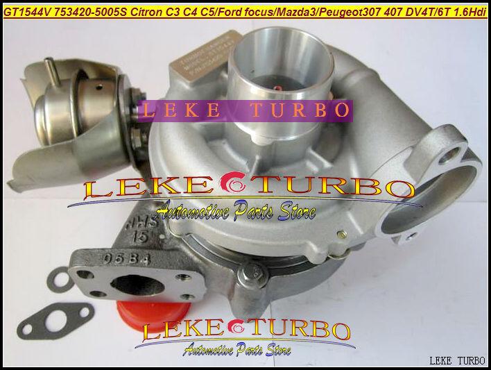 turbo repair kit rebuild gt1544v 753420 753420 5005s 750030 0002 turbocharger for ford citroen. Black Bedroom Furniture Sets. Home Design Ideas