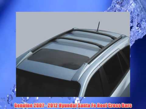 Get Quotations · Genuine 2007   2012 Hyundai Santa Fe Roof Cross Bars Best  Sellers In Exterior Accessories