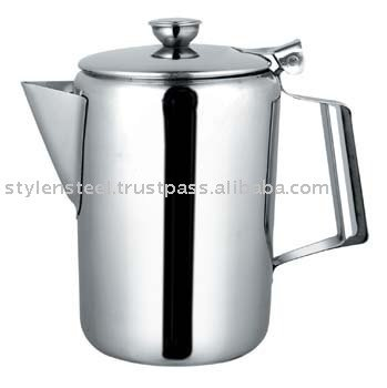 Pearl Coffee Pot With Stainless Steel