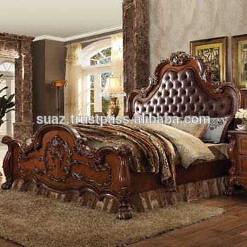 Swell Leather Wooden Bed Black Brown Leather Cushion Bed Set Dark Polish Wood Bedroom Set Home Furniture Wooden Buy Modern Luxury Beds Pakistan Wooden Home Interior And Landscaping Transignezvosmurscom
