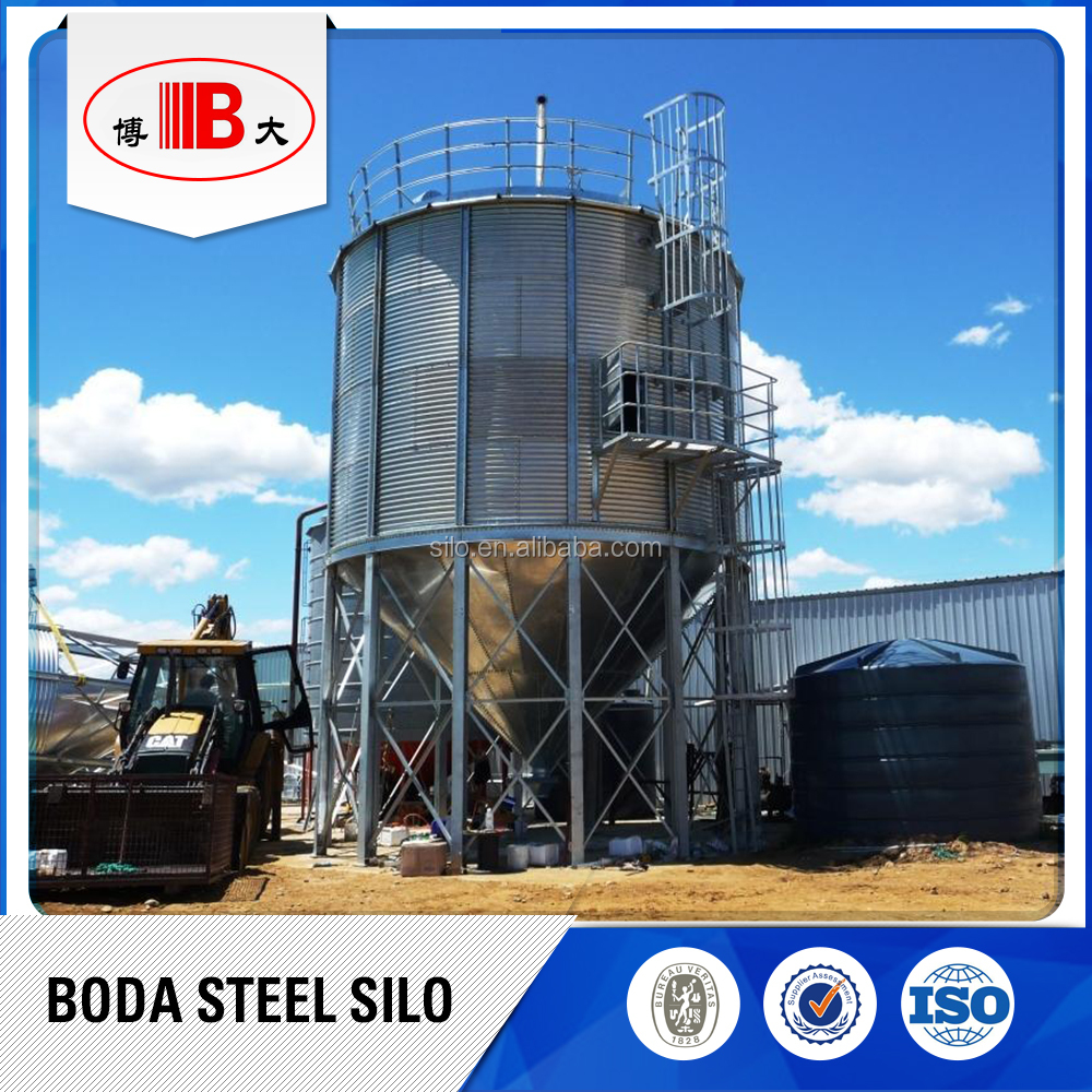 welding stainless steel coffee silos