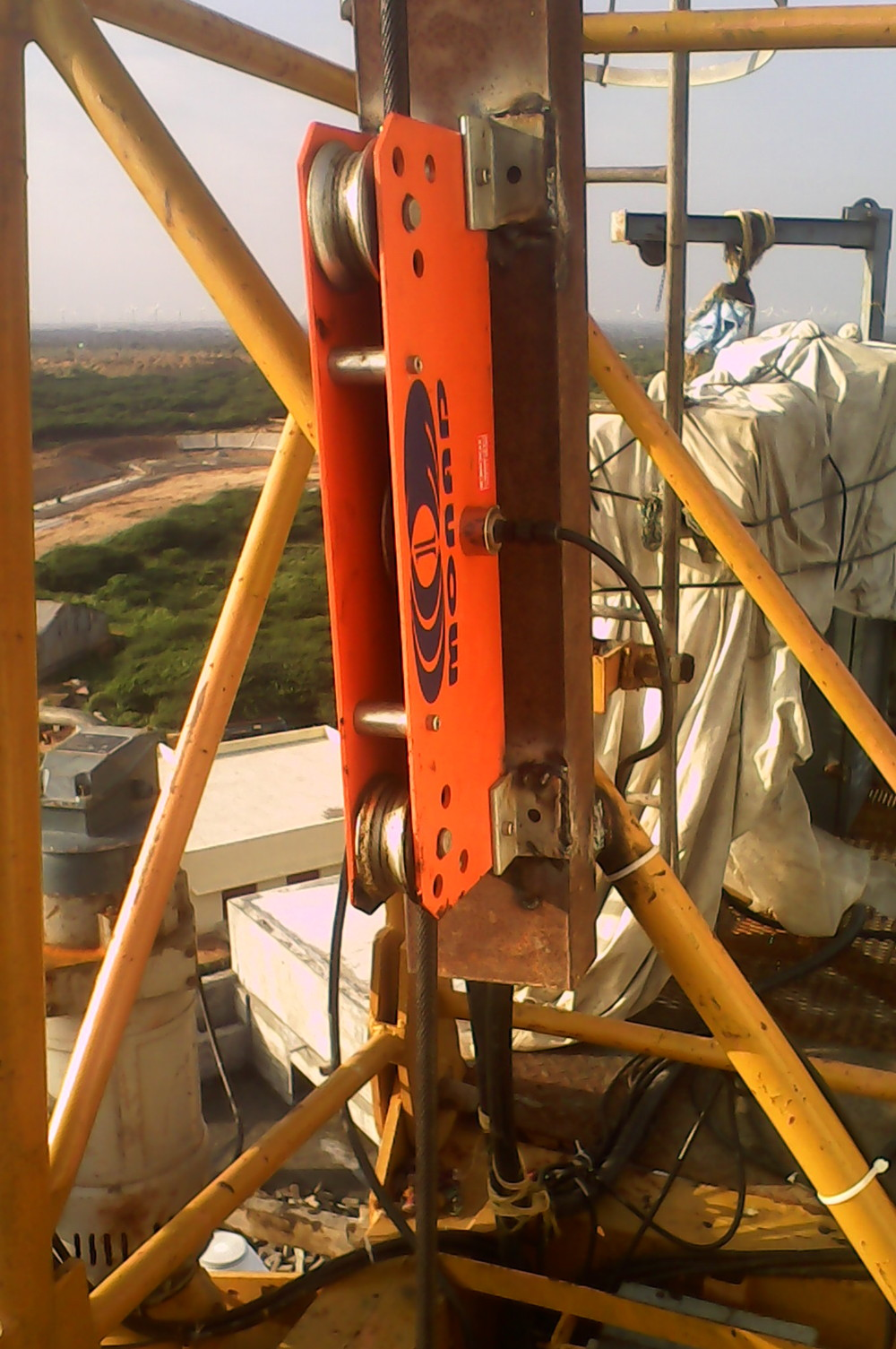 Load Indicator Rated Capacity Indicator : Rated capacity indicator for tower cranes buy rci system