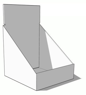 Counter Display Sample 7 Cardboard Corrugated POP Promotion
