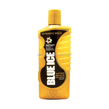 Blue Ice After Shave Dynamisches Gold