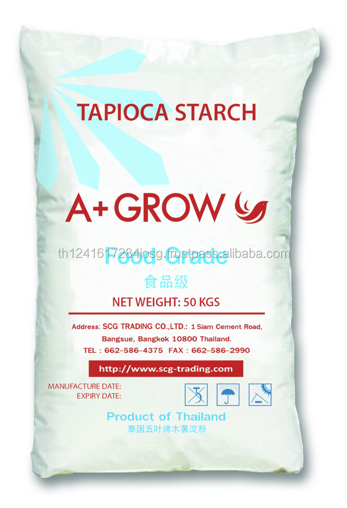High Quality & Cheap Price for Sale Tapioca Cassava Starch for Food from Thailand