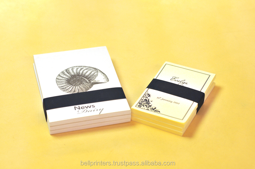 Customized Note book Printing for foil Logo