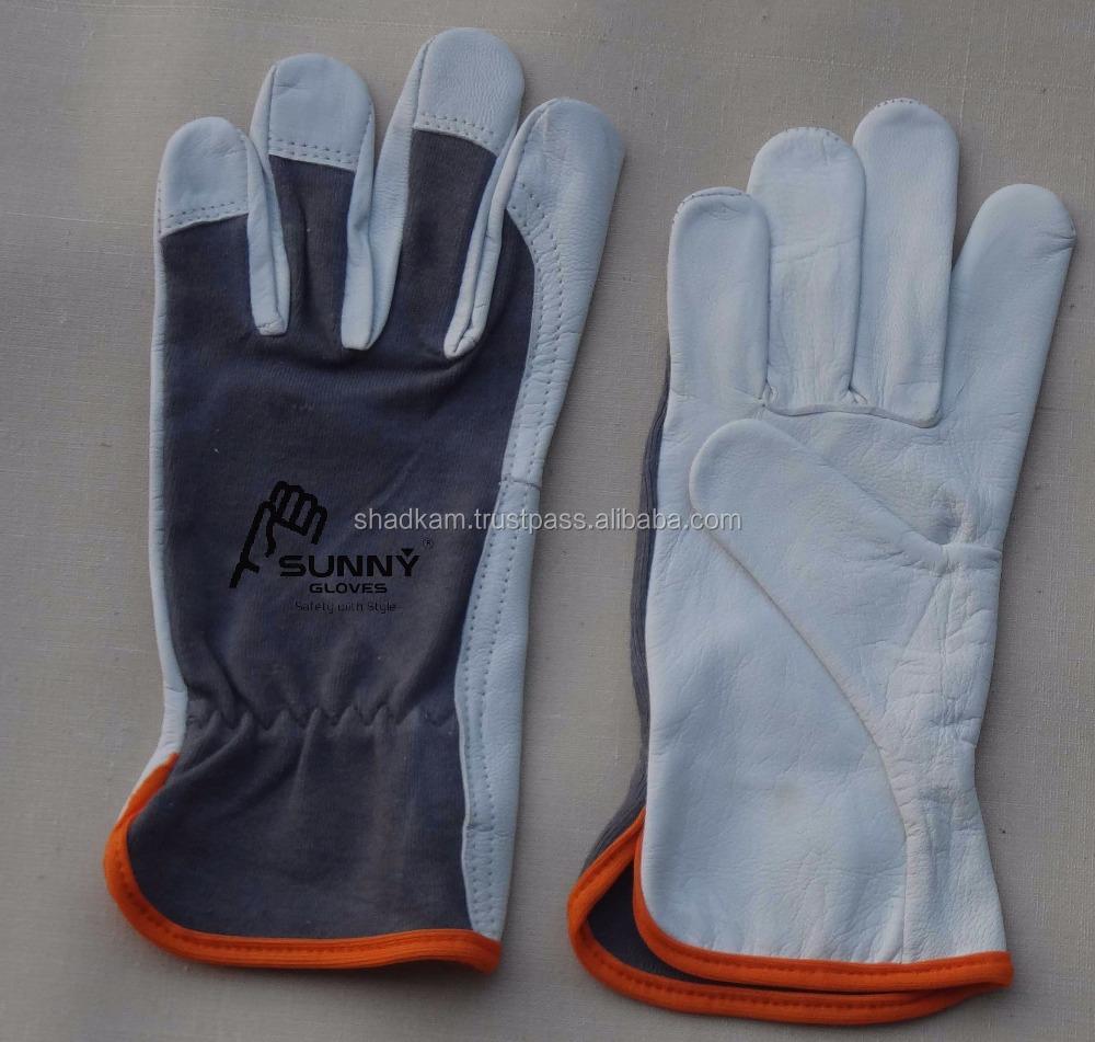 Goatskin leather work gloves - Goatskin Work Gloves Goatskin Work Gloves Suppliers And Manufacturers At Alibaba Com