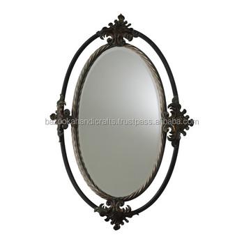 Metal Mirror Frame Decorative Metal Hanging Mirror Frame Antique
