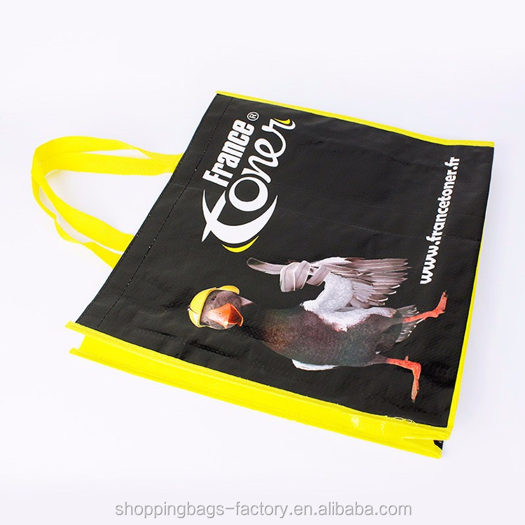 Cheap Fashion China Recycled Laminated PP Woven Bag