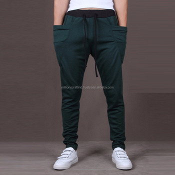 Men Drop Crotch Trousers Harem Pants Wholesale Sweatpants For Men Mesmerizing Mens Patterned Pants