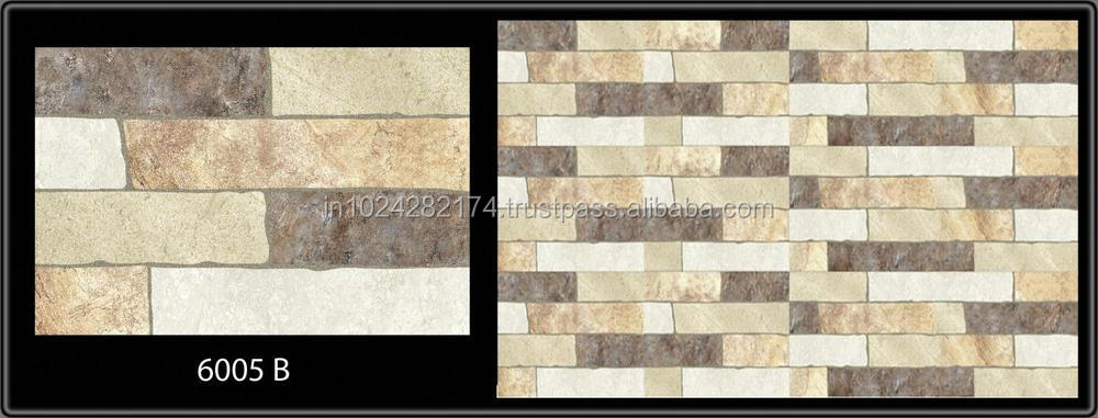 Elevation wall tiles in india 300x450mm buy wall tiles for Exterior wall tiles design india