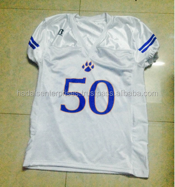High Quality Custom Sublimated American Football Jersey, custom sublimated american football pant, American Football Uniform
