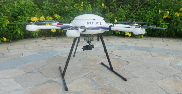 2015 Professional Multirotor UAV With Big Payload Long Duration GPS Navigation Auto Pilot Drone For Security