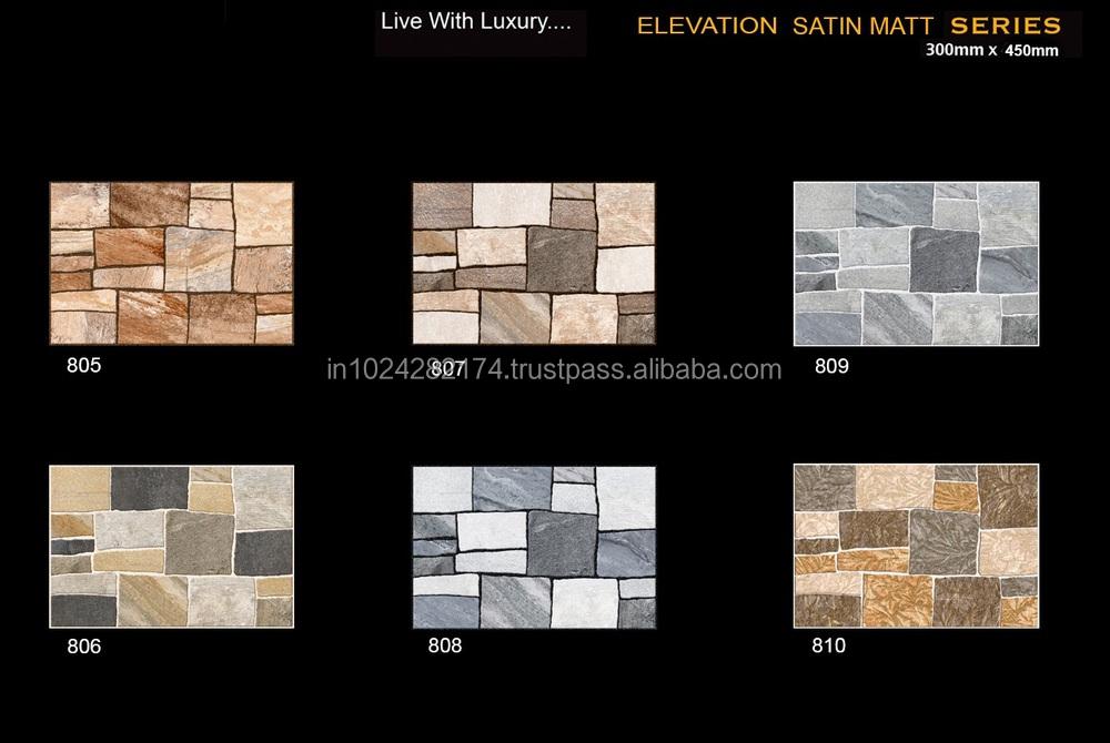 Digital Ceramic Wall Tiles For Kitchen Bathroom Elevation Living Room Etc 809