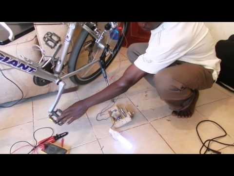 Generating Power using a Bicycle Dynamo