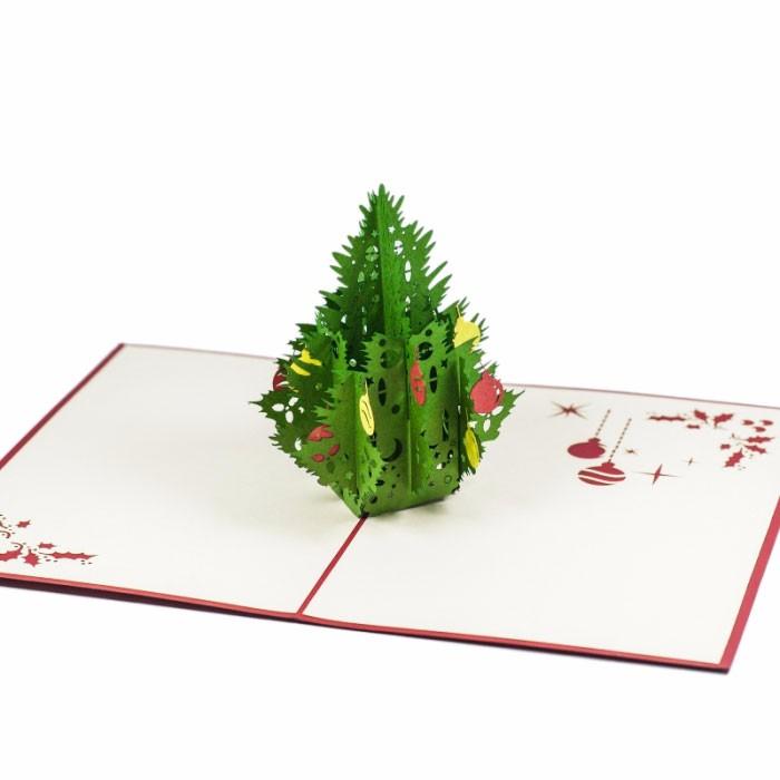 Amazing 3d Pop Up Handmade Christmas Card/seasonal Greeting Cards ...