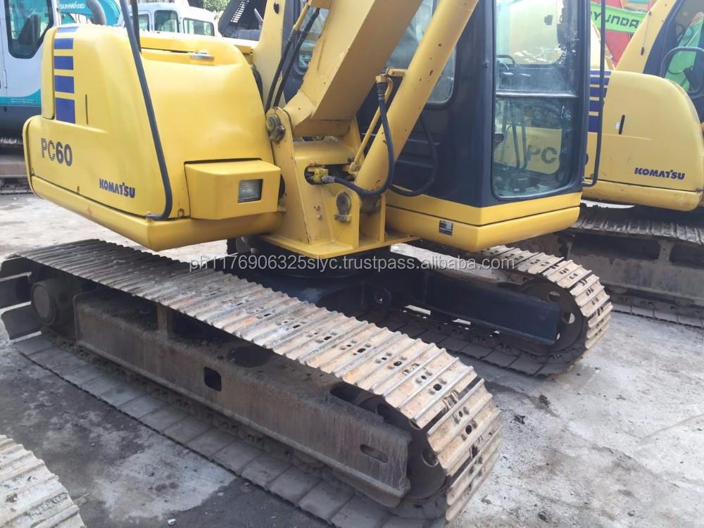 Philippines Komatsu Pc60 Excavator For Sale, Philippines
