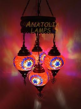 Turkish mosaic lampchandelier 4 globe glasspendant light buy turkish mosaic lamp chandelier 4 globe glass pendant light aloadofball Choice Image