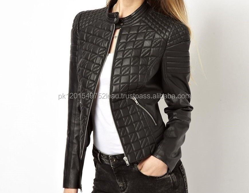 Casual Women 2017 Latest Leather Jacket