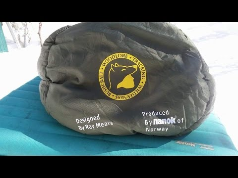 RAY MEARS CANADA JAY -45 SLEEPING BAG