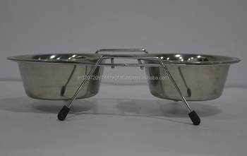30769a5fa2a Metal Dog Bowls With Stand Diner Dog Bowls   Feeder - Buy Dog ...