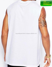 bf768bb32c0d1d White Designed Mens Boys Trendy Tank Top Plain Sando Workout Sleeveless Logo  Casual High Quality New